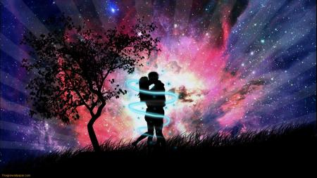 Поезија од Кети - Page 3 Love-couple-in-the-night-1
