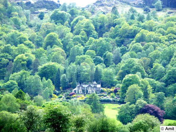 Views around Grasmere Lake