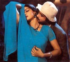 sridevi-chiffon-saree-in-mr-india