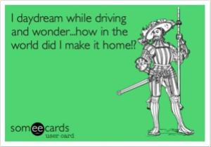 day-dream-while-driving-funny-quotes