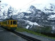 Halfway towards Jungfrau