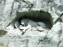 The dead Lion
