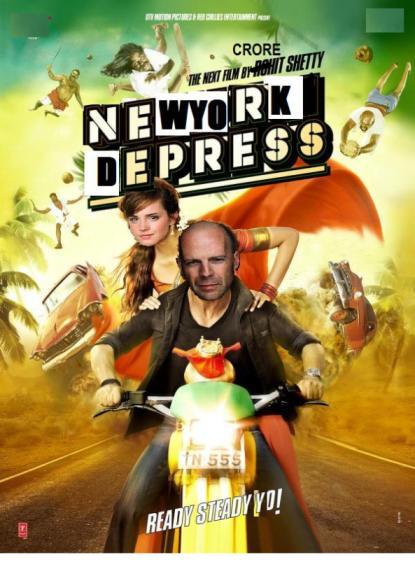New York Depress starring Brave Willis and Emma Wandson